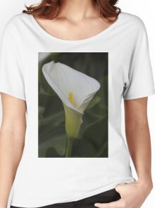 lily blooming in the garden Women's Relaxed Fit T-Shirt
