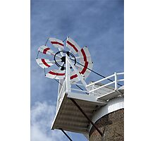 Cley Windmill Fantail Photographic Print