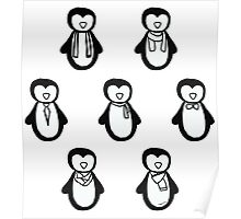 Penguin Fashion Poster
