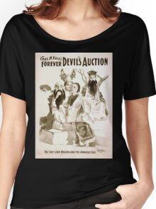 Performing Arts Posters Chas H Yales forever Devils auction 1065 Women's Relaxed Fit T-Shirt