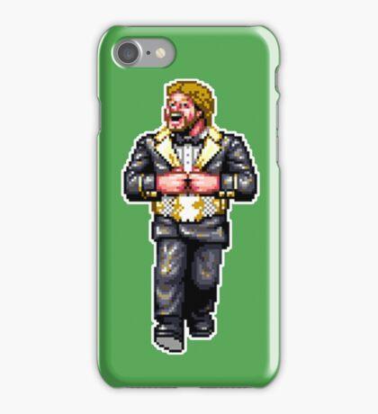 WRESTLEFEST DOLLAR MAN iPhone Case/Skin