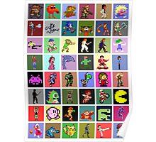 Pixel Heroes Poster