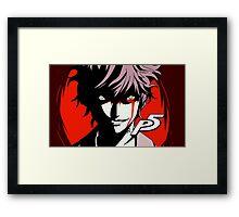 Persona 5 The Phantom  Framed Print