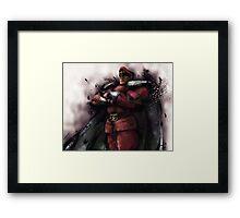 M. Bison Master Framed Print