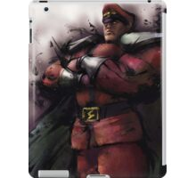 M. Bison Master iPad Case/Skin
