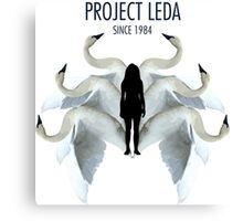 Project LEDA Canvas Print