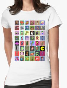Pixel Heroes Womens Fitted T-Shirt