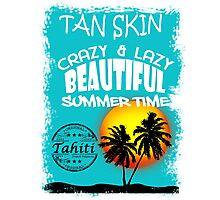 Tahiti Tropical Summer Beach Photographic Print