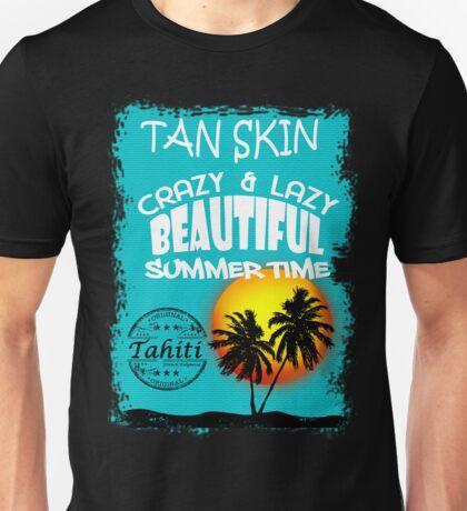Tahiti Tropical Summer Beach Unisex T-Shirt
