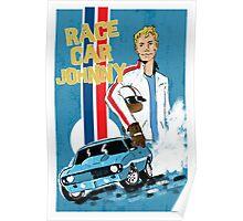 Race Car Johnny Poster