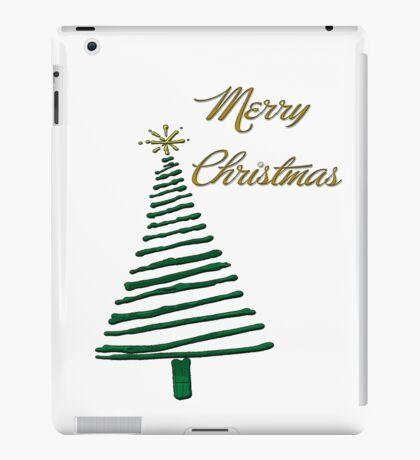 Merry Christmas Tree iPad Case/Skin