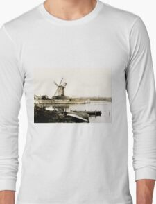 Historical Cley Windmill Long Sleeve T-Shirt