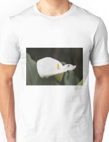 lily blooming in the garden Unisex T-Shirt
