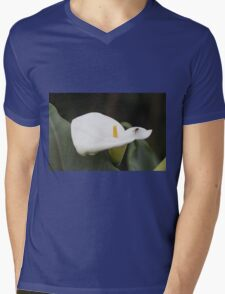 lily blooming in the garden Mens V-Neck T-Shirt