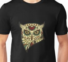 los dia del muertos - Owl Unisex T-Shirt