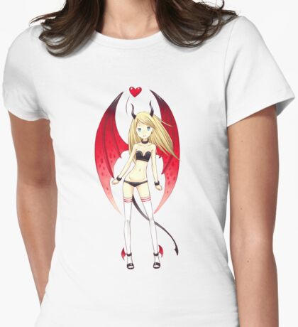 Succubus Womens Fitted T-Shirt