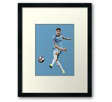 John Stones Manchester City Defender  Framed Print