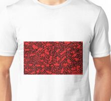 Keith Haring Red Unisex T-Shirt