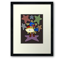 Geno Whirl (UNOFFICIAL) Framed Print