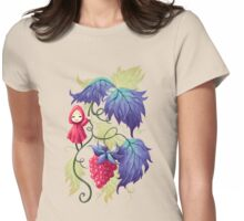 Raspberry Womens Fitted T-Shirt