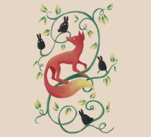 Bunnies and a Fox T-Shirt