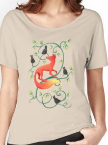 Bunnies and a Fox Women's Relaxed Fit T-Shirt
