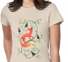 Bunnies and a Fox Womens Fitted T-Shirt