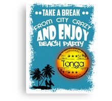 Summer Time In Tonga Canvas Print