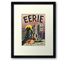 Eerie Comics - The Ghoul Approaches Framed Print