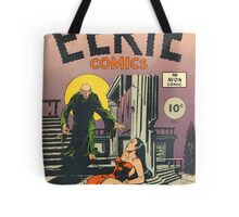 Eerie Comics - The Ghoul Approaches Tote Bag