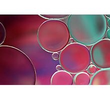 Oil & Water Abstract  Photographic Print
