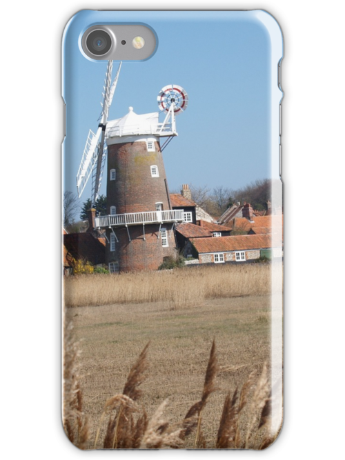 Cley Windmill from the reeds by cleywindmill