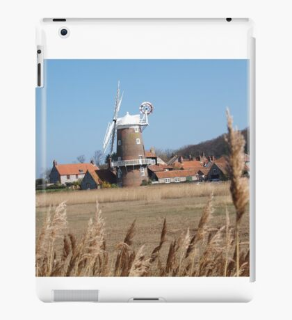 Cley Windmill from the reeds iPad Case/Skin