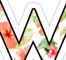 Tropical Weezer Logo Sticker