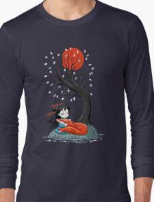 Girl and a Fox 2 Long Sleeve T-Shirt