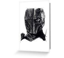 Deathstroke Sketch Ballpoint Greeting Card