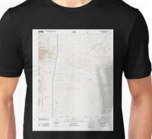 USGS TOPO Map Arizona AZ McGrew Spring 20120517 TM Unisex T-Shirt