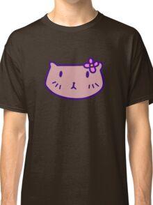 Flower Squirrel Face Classic T-Shirt