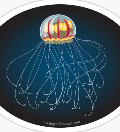 New Jellyfish Species Discovered in Marianas Trench Sticker