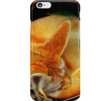 Fennec Fox Napping iPhone Case/Skin