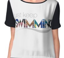 Dory - Just Keep Swimming Chiffon Top