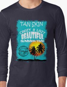 Kingdom Of Paradise Beach Long Sleeve T-Shirt
