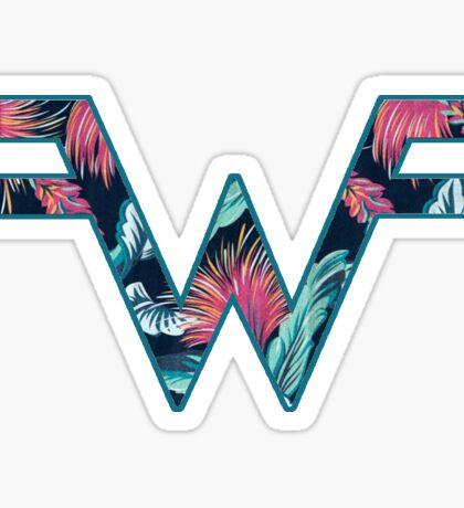 Weezer Dark Tropical Sticker