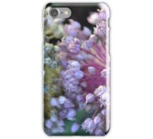 Green & Pink Leek Puffs iPhone Case/Skin