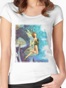 Fairy Women's Fitted Scoop T-Shirt