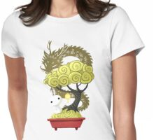 Bonsai Bunny Womens Fitted T-Shirt