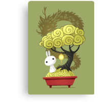 Bonsai Bunny Canvas Print