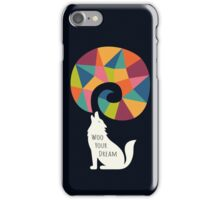 Woo Your Dream At Night iPhone Case/Skin