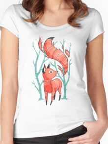 Winter Fox Women's Fitted Scoop T-Shirt