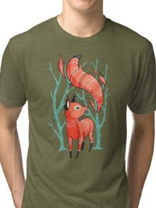 Winter Fox Tri-blend T-Shirt